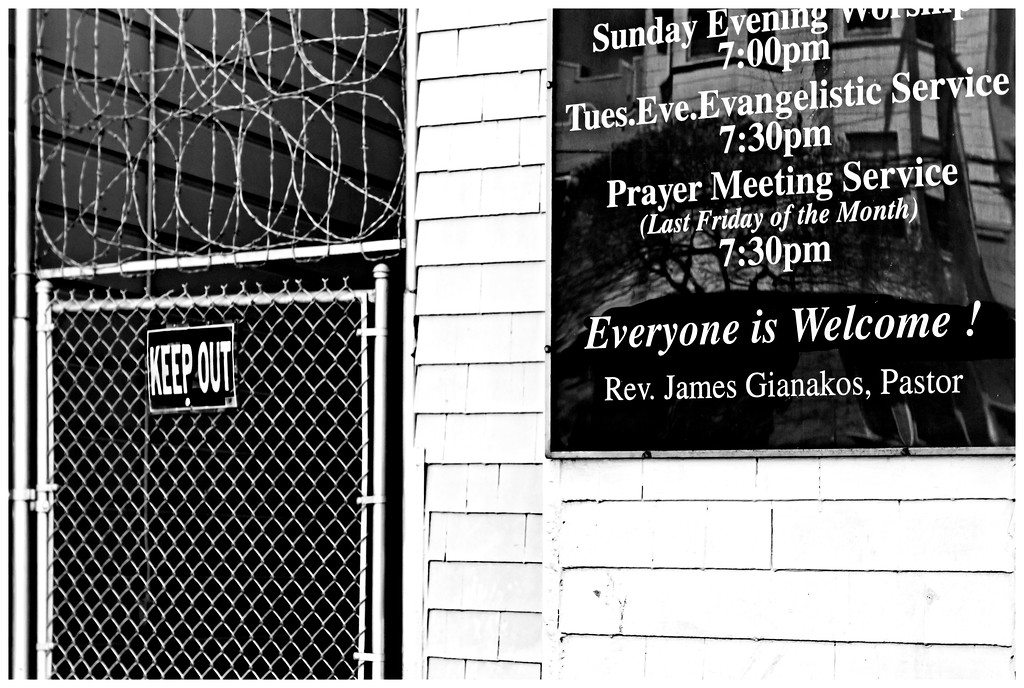 Mixed Messages - Mission District San Francisco