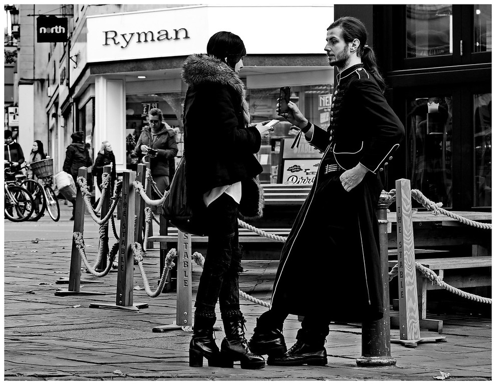 Elegant Goth Couple - Kingsmead Square Bath