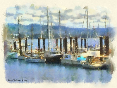 Canadian Habour Studio Art