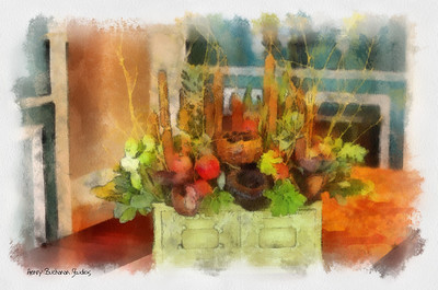 Fall Arrangement Studio Art