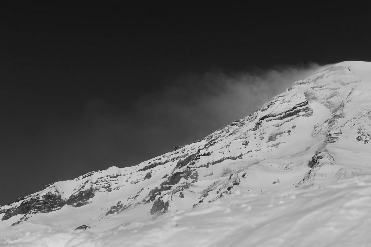 Mt Rainier B&W 021