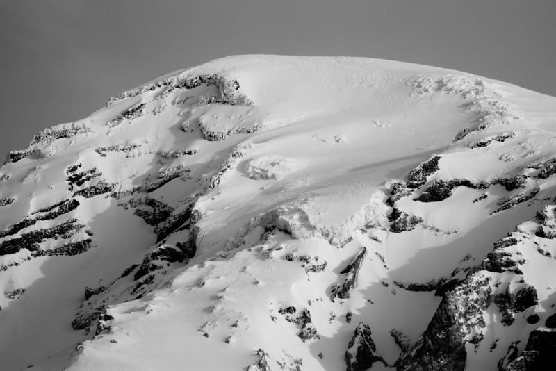 Mt Rainier B&W 017