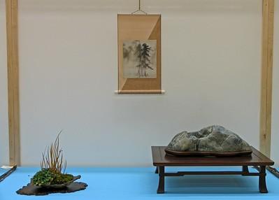 Bay Island Bonsai Exhibit Displays