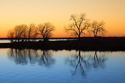 A Hubbard Sunset