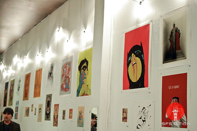 Superheros Group Show