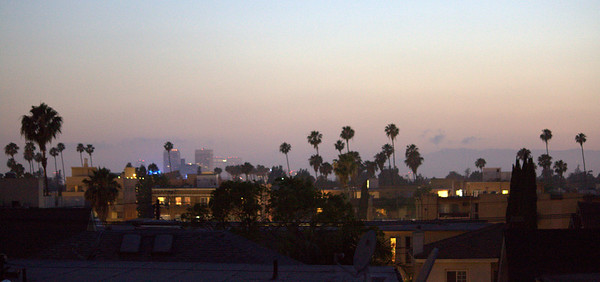 Looking West from our rooftop