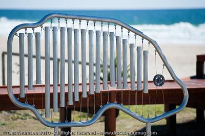 Fish Scales, by Adriaan Vanderlugt - Swell Sculpture Festival, Pacific Parade, Currumbin Beach, Gold Coast, Australia; 15 September 2010. - www.swellsculpture.com.au