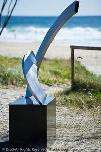 M-ten, by James Parrett - Swell Sculpture Festival, Pacific Parade, Currumbin Beach, Gold Coast, Australia; 15 September 2010. - www.swellsculpture.com.au