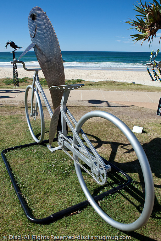 """There's something a bit fishy here! by David Drews - Swell Sculpture Festival, Pacific Parade, Currumbin Beach, Gold Coast, Australia; 15 September 2010. -  <a href=""""http://www.swellsculpture.com.au"""">http://www.swellsculpture.com.au</a>"""