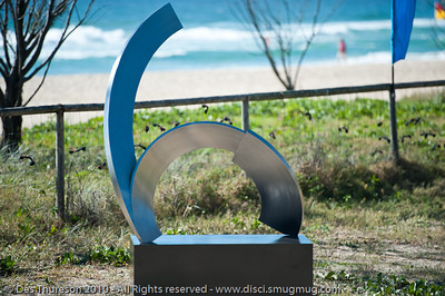 M-ten, by James Parrett - Swell Sculpture Festival, Pacific Parade, Currumbin Beach, Gold Coast, Australia; 15 September 2010. - www.swellsculpture.com.au