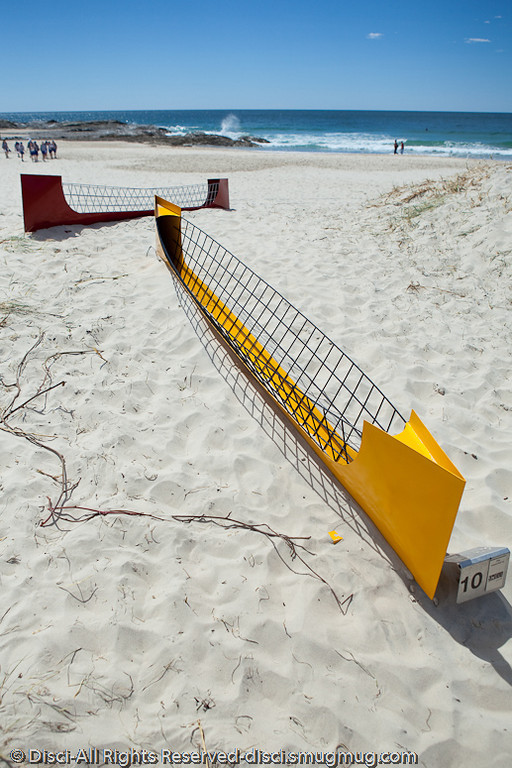 """Happy Boats, by Elizabeth Poole - Swell Sculpture Festival, Pacific Parade, Currumbin Beach, Gold Coast, Australia; 15 September 2010. -  <a href=""""http://www.swellsculpture.com.au"""">http://www.swellsculpture.com.au</a>"""