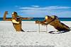 "The Race, by John Cox - Swell Sculpture Festival, Pacific Parade, Currumbin Beach, Gold Coast, Australia; 15 September 2010. -  <a href=""http://www.swellsculpture.com.au"">http://www.swellsculpture.com.au</a>"