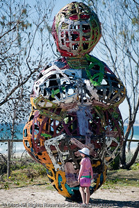 Embracing the Plateau, by Daniel Clemmett - Swell Sculpture Festival, Pacific Parade, Currumbin Beach, Gold Coast, Australia; 15 September 2010. - www.swellsculpture.com.au