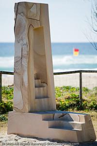 Take the Steps, by Thomas Reifferscheid - Swell Sculpture Festival, Pacific Parade, Currumbin Beach, Gold Coast, Australia; 15 September 2010.