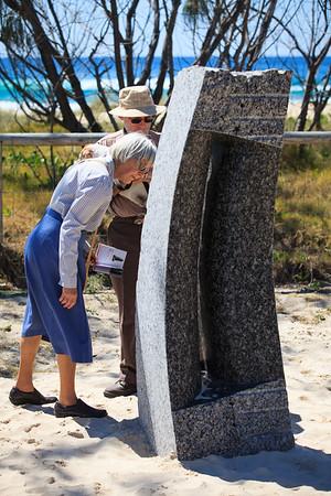 Spatial Sound, Luke Zwolsman - Swell Sculpture Festival 2014, Visit 1; Curumbin, Gold Coast, Queensland, Australia; 17 September 2014. Photos by Des Thureson