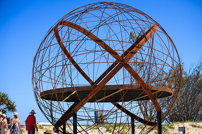 Shifting Ground, Marianne Galluzzo - Swell Sculpture Festival 2014, Visit 1; Curumbin, Gold Coast, Queensland, Australia; 17 September 2014. Photos by Des Thureson