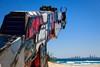 Keeping up with the Kalashnikovs, Daniel Clemmett - Swell Sculpture Festival 2014, Visit 1; Curumbin, Gold Coast, Queensland, Australia; 17 September 2014. Photos by Des Thureson