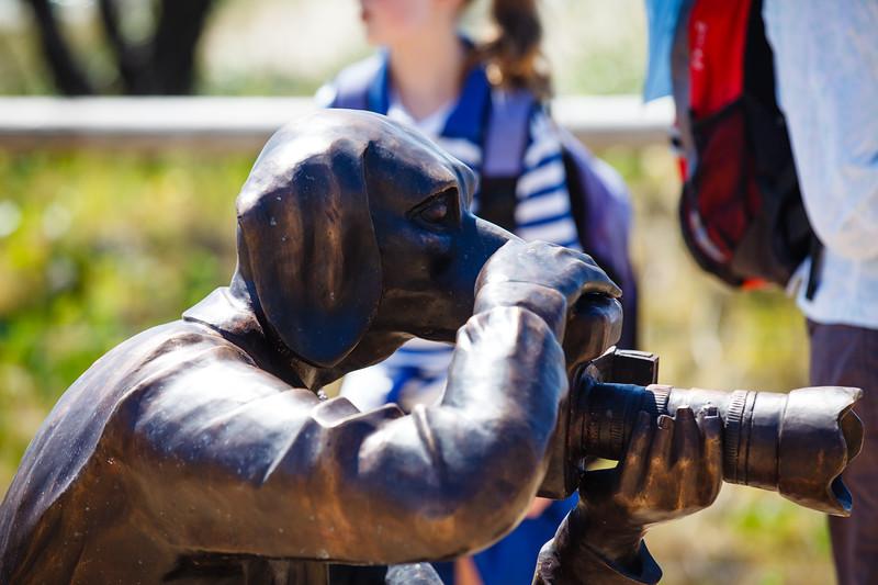Happy Birthday, Gillie & Marc Schattner, Gillie Schattner, Marc Schattner - Swell Sculpture Festival 2014, Visit 1; Curumbin, Gold Coast, Queensland, Australia; 17 September 2014. Photos by Des Thureson