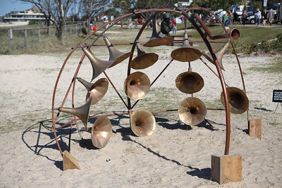 Resonance, Rebecca Cunningham - Swell Sculpture Festival 2016, Visit 1; Currumbin, Gold Coast, Queensland, Australia; 12 September 2016. Photos by Des Thureson - http://disci.smugmug.com