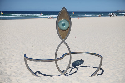 Seafaring Voyager, James Worth - Swell Sculpture Festival 2016, Visit 1; Currumbin, Gold Coast, Queensland, Australia; 12 September 2016. Photos by Des Thureson - http://disci.smugmug.com