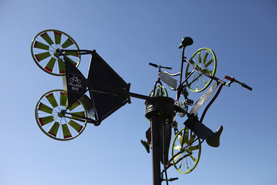 Wind in the Wheelos, Village Bike Gold Coast Inc - Swell Sculpture Festival 2016, Visit 1; Currumbin, Gold Coast, Queensland, Australia; 12 September 2016. Photos by Des Thureson - http://disci.smugmug.com