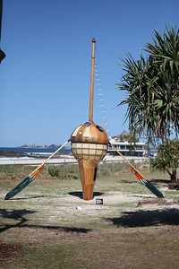 Lighfboat, Greg Windsor - Swell Sculpture Festival 2016, Visit 1; Currumbin, Gold Coast, Queensland, Australia; 12 September 2016. Photos by Des Thureson - http://disci.smugmug.com