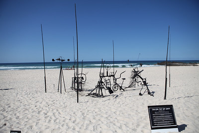 The Gym That Got Away - Swell Sculpture Festival 2016, Visit 1; Currumbin, Gold Coast, Queensland, Australia; 12 September 2016. Photos by Des Thureson - http://disci.smugmug.com