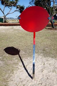 Monacle, Shelly Kelly - Swell Sculpture Festival 2016, Visit 1; Currumbin, Gold Coast, Queensland, Australia; 12 September 2016. Photos by Des Thureson - http://disci.smugmug.com