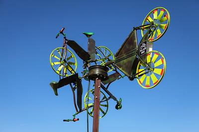 Wind in the Wheelos, Village Bike Gold Coast Inc - Swell Sculpture Festival 2016, Visit 1; Currumbin, Gold Coast, Queensland, Australia; 12 September 2016. Photos by Des Thureson - http://disci.smugmug.com