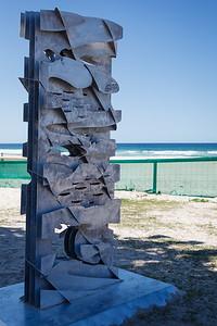 Flow of the Sea, Georgia Morgan - Swell Sculpture Festival 2016, Visit 1; Currumbin, Gold Coast, Queensland, Australia; 12 September 2016. Photos by Des Thureson - http://disci.smugmug.com
