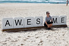 "Awes_me, Emma Anna - Swell Sculpture Festival 2016, Visit 2; Currumbin, Gold Coast, Queensland, Australia; 14 September 2016. Photos by Des Thureson - <a href=""http://disci.smugmug.com"">http://disci.smugmug.com</a>"