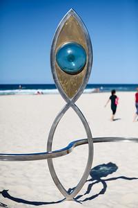 Seafaring Voyager, James Worth - Swell Sculpture Festival 2016, Visit 1; Currumbin, Gold Coast, Queensland, Australia; 12 September 2016. Photos by Des Thureson - http://disci.smugmug.com