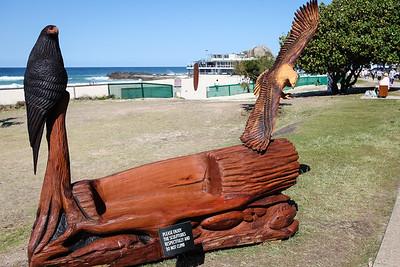 From Creek to Coast, Matthew Bird - Swell Sculpture Festival 2016, Visit 1; Currumbin, Gold Coast, Queensland, Australia; 12 September 2016. Photos by Des Thureson - http://disci.smugmug.com