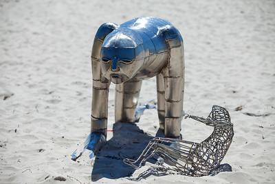 The Rebirth - Cezary Stulgis - Swell Sculpture Festival, Pacific Parade, Currumbin Beach, Gold Coast, Queensland, Australia. Photos by Des Thureson:  http://disci.smugmug.com.