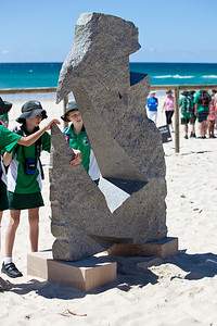 Impressions of Space, Luke Zwolsman - Swell Sculpture Festival, Pacific Parade, Currumbin Beach, Gold Coast, Queensland, Australia. Photos by Des Thureson:  http://disci.smugmug.com.