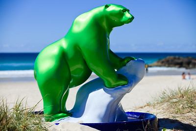2011 Swell Sculpture Festival - Public Art - Currumbin Beach, Gold Coast, Queensland, Australia. Photos by Des Thureson