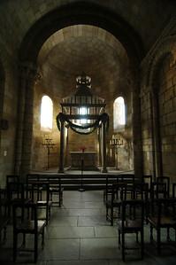 Altar at the Langon Chapel