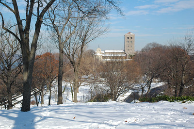 View of the Cloisters (Fort Tryon Park)