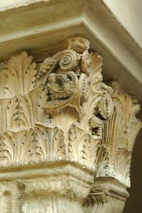 Column Detail at the Saint Guilhem Cloister