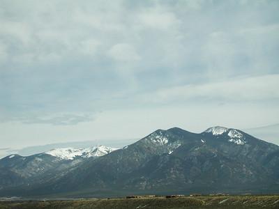Taos Mountain Views, Taos NM, USA.