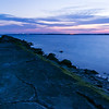 View looking southwest from Battery Buchanan<br /> Fort Fisher, North Carolina<br /> USA