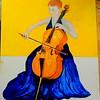 150-The Cellist, 16x20, oil on canvas board, march 11, 2016 DSCN0150