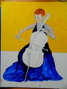 140-The Cellist, 16x20, oil on canvas board, march 10, 2016-430pmDSCN0140