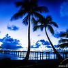 Fakavara Island - Beach at White Sands Resort in the French Polynesian Islands