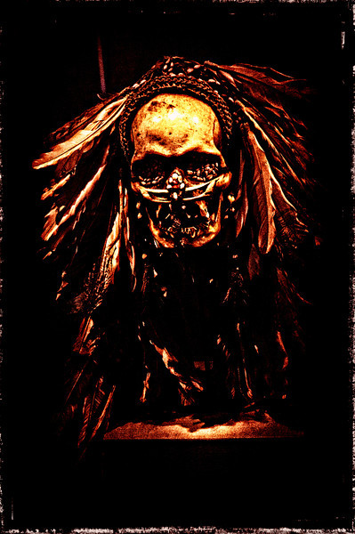 Witch Doctor Mask Horror