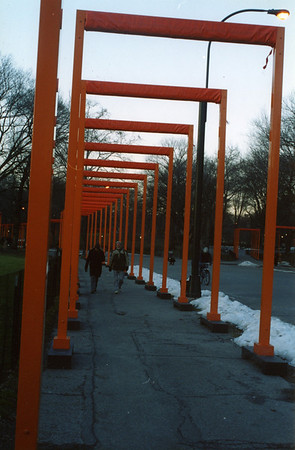 """The Gates"" - Central Park February 2005"