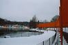 Snow on February 20, 2005 at Harlem Meer.
