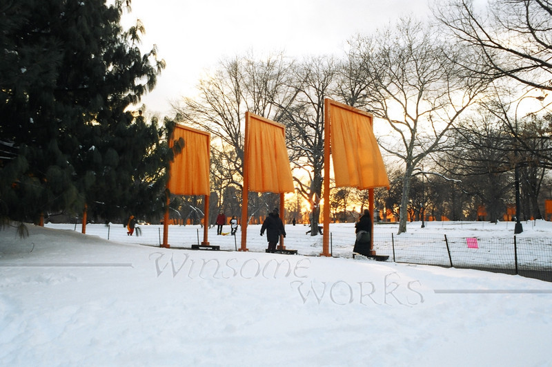 """""""The Gates"""" echo through the trees of Central Park"""