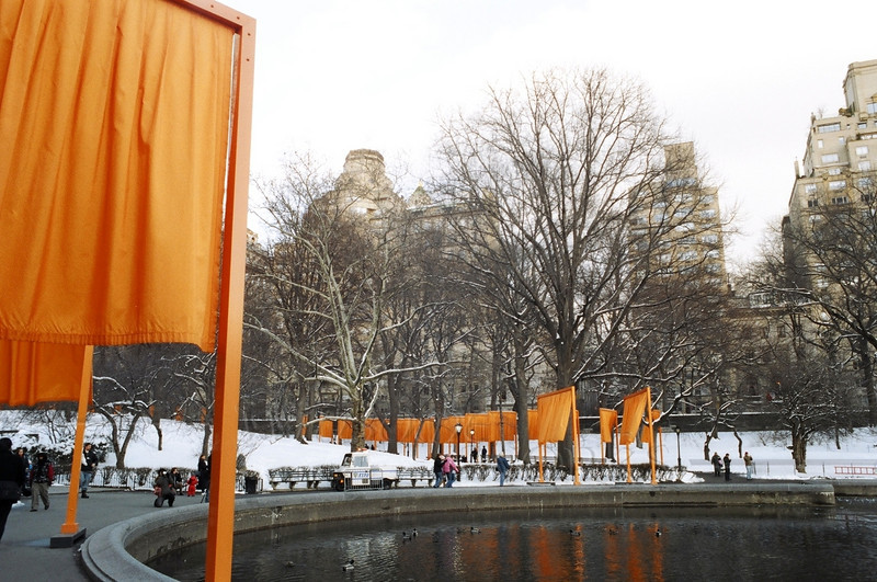 """The Gates""; Central Park. NYC"