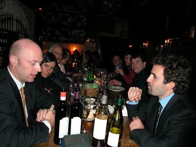 Il Buco - after the Tre Bicchieri tasting 3-05